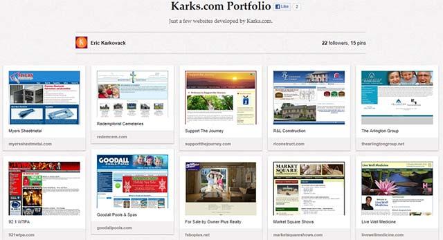Pinterest Screen