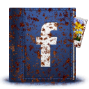 Rusted Facebook